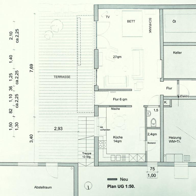 Plan-Wohnung